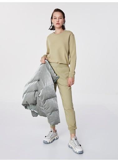 Twist Sweatshirt Yeşil